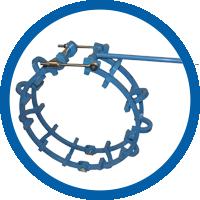 Механический арочный центратор – Сверхтяжелая серия